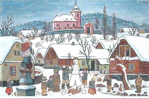 Josef Lada Vánoce