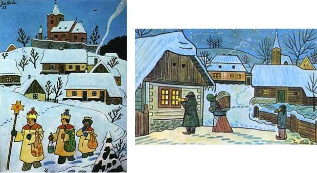 Josed Lada Vánoce