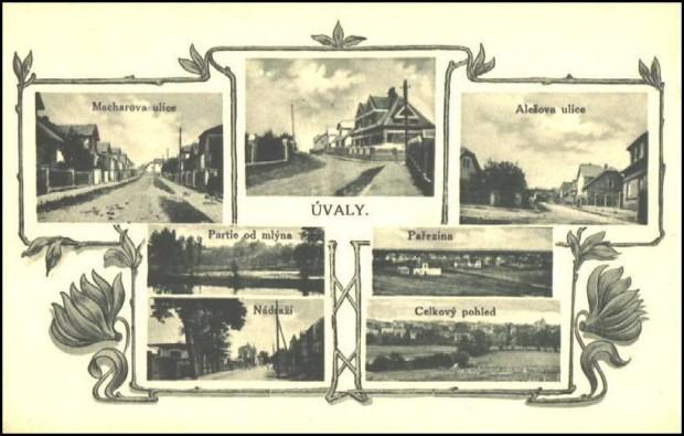 Úvaly 1930 (hrubý odhad)